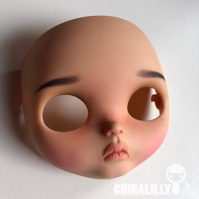 Custom Blythe Faceplates