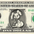 EASTER BUNNY on Real Money - Handmade Custom Dollar Bill Art Rabbit