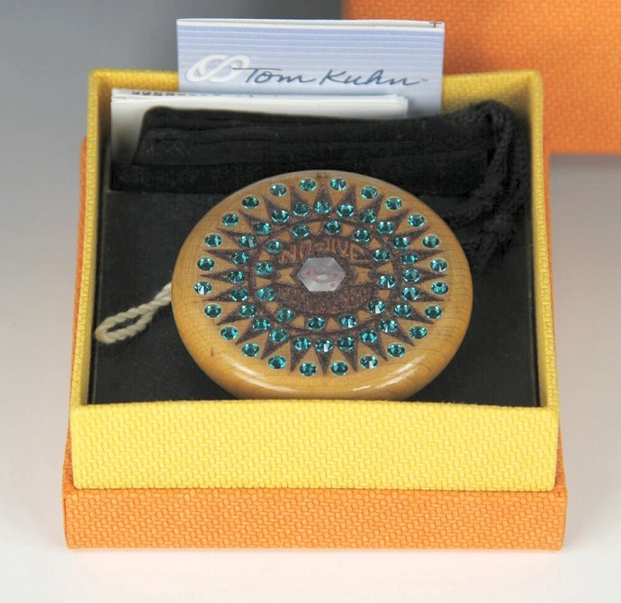 Tom Kuhn Mandala Sunburst-Nova YoYo: Serial Number 29 of 50, Customized by