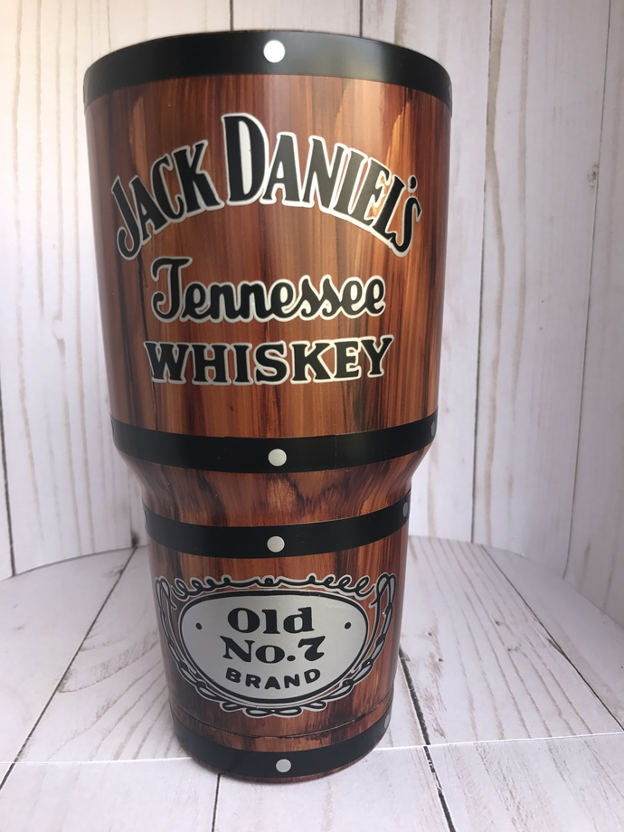 Personalized 30 oz. Jack Daniels Tumbler