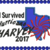 I Survived hurricane Harvery. 5x7 and 6x10 also for MB4 hoops digital embroidery