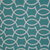 White geometric designs on a pretty green background look nice on our large