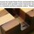 Minimalist Recycled Wood iPad Holder