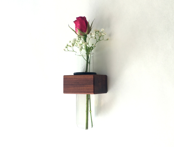 Magnetic Fridge Vase, Test Tube Vase