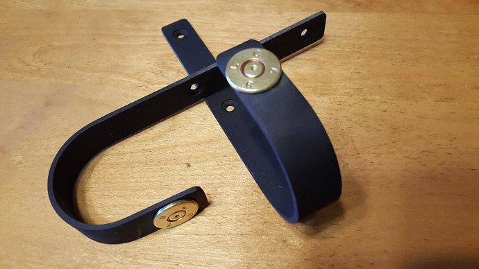 VERDICT BRAND 50 CAL Brass Edition Wall Mount Gun Racks Gun Hooks Shotgun Hanger