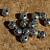 Basket Spacer Beads in Pewter 10-