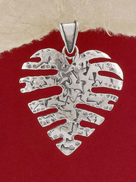 Silver Heart Pendant Necklace/925 Sterling Silver Pendant Necklace/Pendant