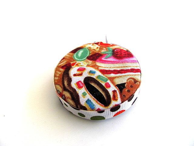 Tape Measure with Sweet Treats Retractable Measuring Tape