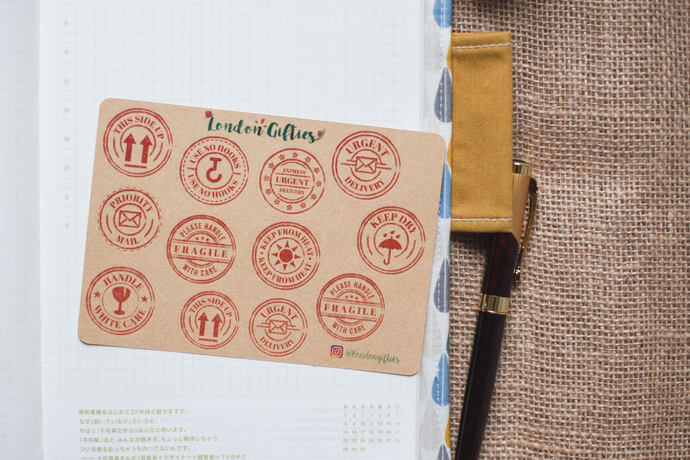 postal mail stamps for envelopes by london gifties on zibbet