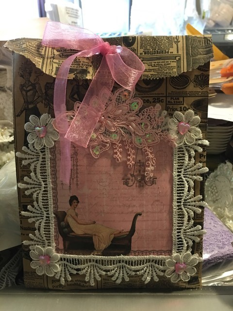 October 2017 Vintage Alteration Kit B (see ALL pictures of kit)