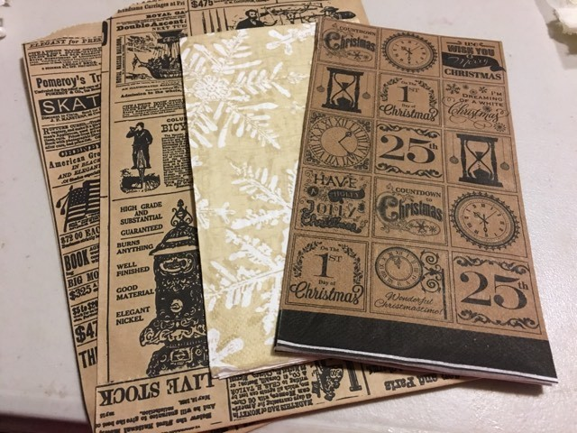 October 2017 Vintage Alteration Kit C (see ALL pictures of  Kit)