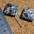 Mosaic Magnesium Diagonal Square Beads 10-