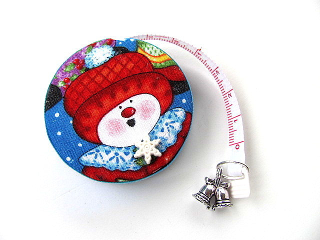 Retractable Tape Measure Snow People Measuring Tape