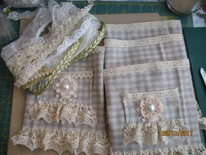 Handmade - Lace & Trim Filled Bags