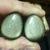 """3/4"""" 19mm Golden Obsidian teardrop Plugs"""