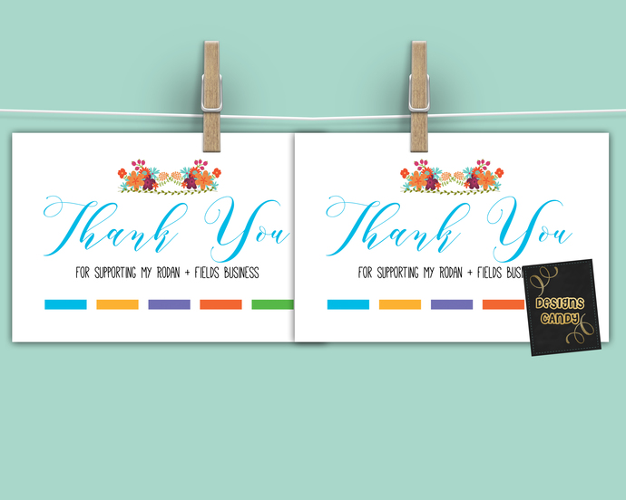 DIgital Thank you card- Rodan + Fields consultant