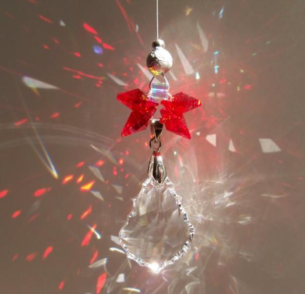 Sun Catcher - July Birthstone Angel