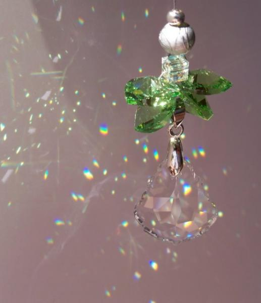 Sun Catcher - August Birthstone Angel