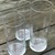 Tall Glass Cylinder Wedding Vase Set 7.25  / Wedding / Special events
