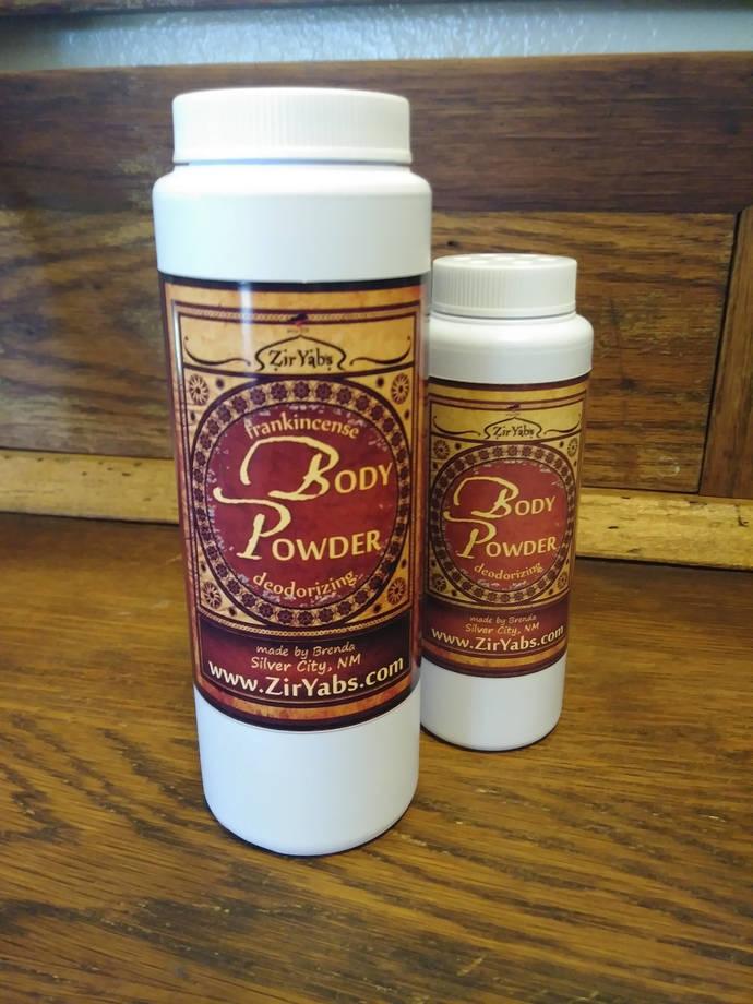 Deodorizing Body Powder | 2 oz | Foot Powder | Under Boob Powder | Underarm