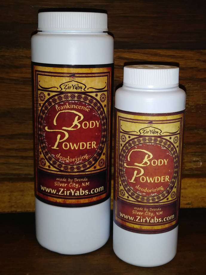 Deodorizing Body Powder | 3 oz | Foot Powder | Under Boob Powder | Underarm