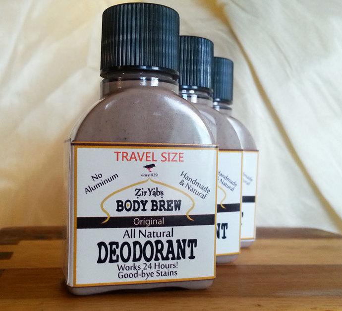 Amazing 24 Hour Natural Deodorant | Original Scent | 1.75 oz | Travel Size |