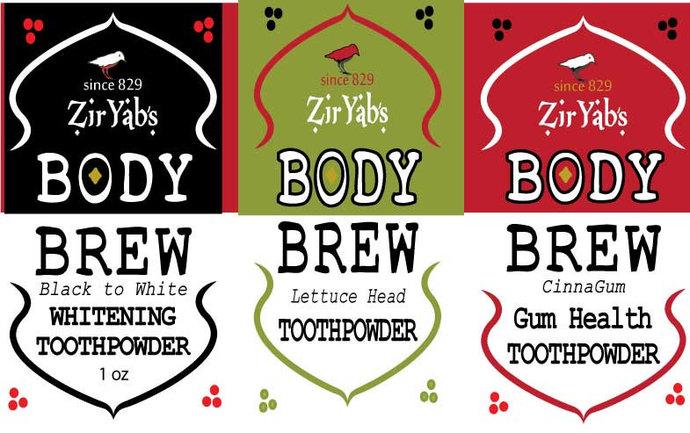 Toothpowder All Natural Vegan | 1 oz | no Flouride | no Glycerin | no