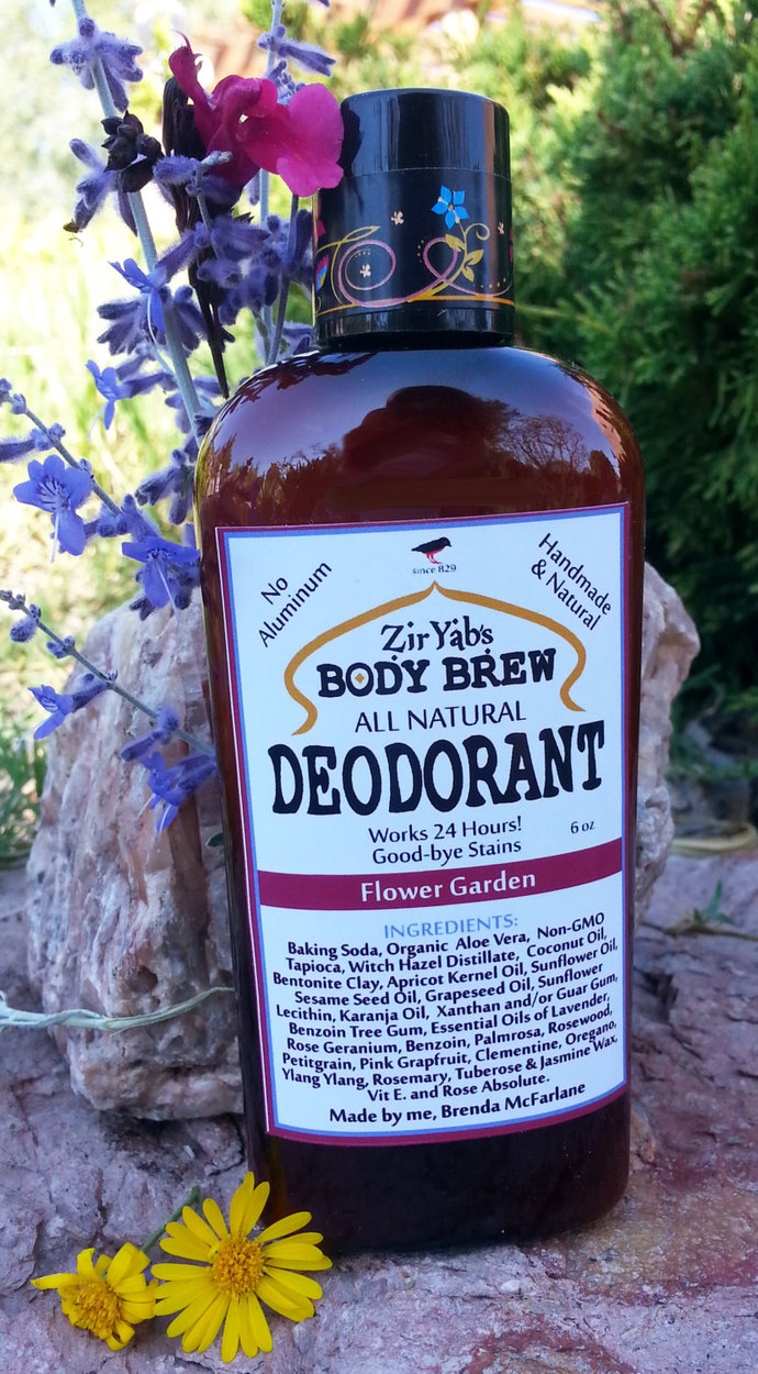 Amazing 24 Hour Natural Deodorant | Flower Garden | 6 oz | works 24 hours |