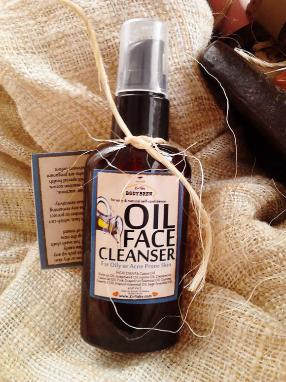 Oil Face Cleanser | 2 oz | Face Cleansing Oil | Makeup Remover | Blackhead
