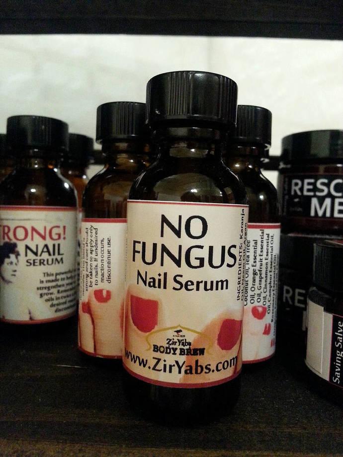 No Fungus Nail Serum | 1 oz | Nail Antifungal Neem | Nail Fungus Treatment