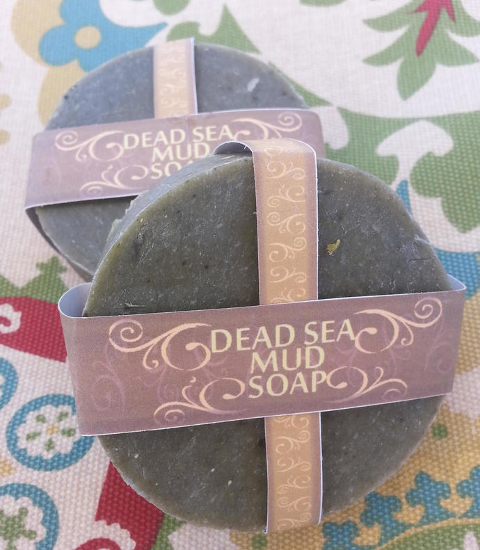 Dead Sea Mud Soap | Complexion Soap | Face Soap | Vegan Soap | Sulfur Soap |