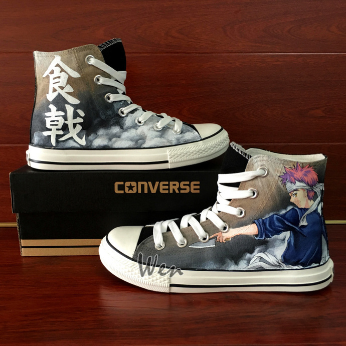 Converse Chuck Taylor Canvas Shoes for Men Women Anime Sneakers Hand Painted