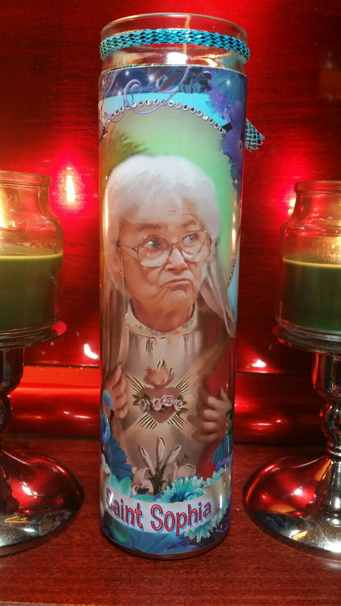 Golden Girls -  Sophia Petrillo - Estelle Getty -   Celebrity Tropical Prayer