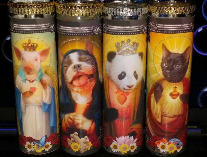 Harambe Prayer Candles - Pet Celebrity Prayer Candles - 20% goes to World