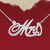 925 Silver Name Necklace Mrs./Custom Name Jewelry/Personalized ANY NAME Plate