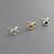 Swarovski Birthstone & Sterling Silver Post Earrings Swarovski Crystal Earrings