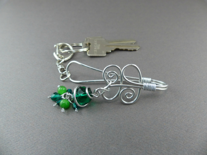 Keychain Purse Key Hook - Key Finder Purse Hooks - Handmade Keychain Purse Charm