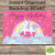 Magical Unicorn Birthday /  Unicorn Backdrop - Happy Birthday Unicorn banner-