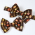 Little Guy Bow Tie - Tribal Arrows on Brown