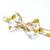 Little Guy Bow Tie - Mustard Magnolia