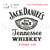 Custom embroidery, Jack daniels Simple Whiskey logo embroidery