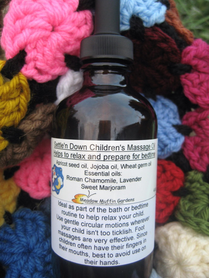 Children's Calming Massage n' Body Oil