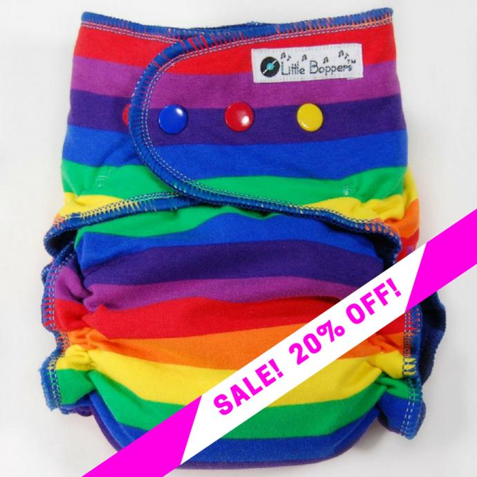 CLEARANCE SALE! Primary Rainbow Stripes