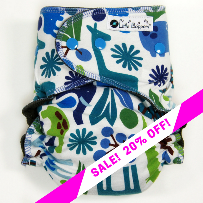 CLEARANCE SALE! Blue Zoo
