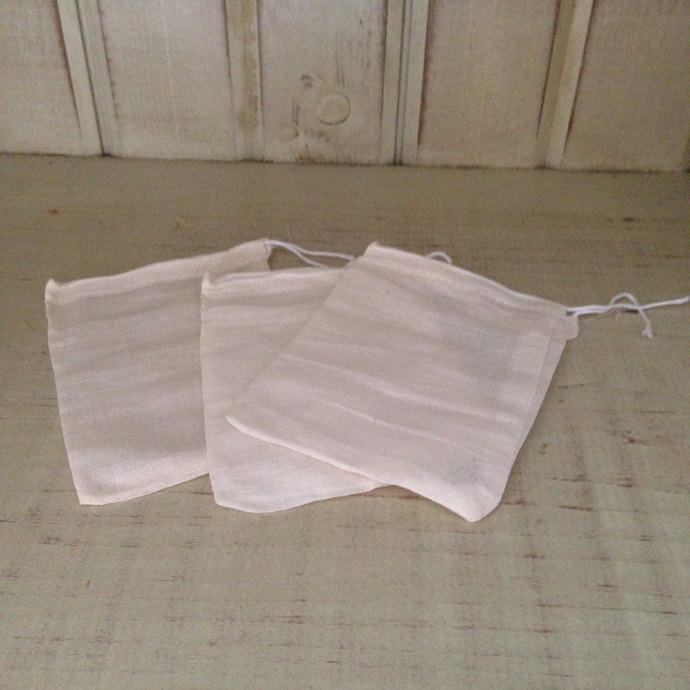 Muslin Bags - Make the most of your Bubble Bars