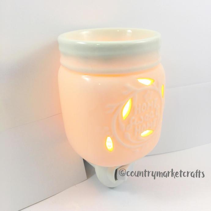 Mason Jar Plug In Fragrance Warmer - Electric Wax Melter