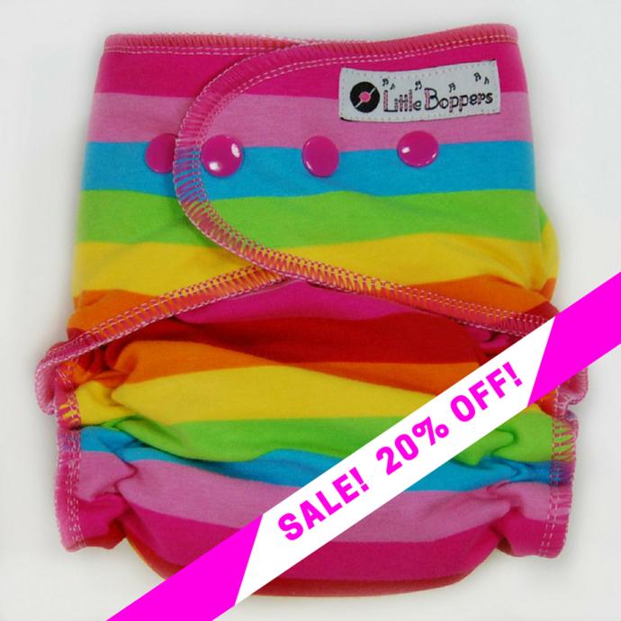 CLEARANCE SALE! Candy Rainbow Stripes