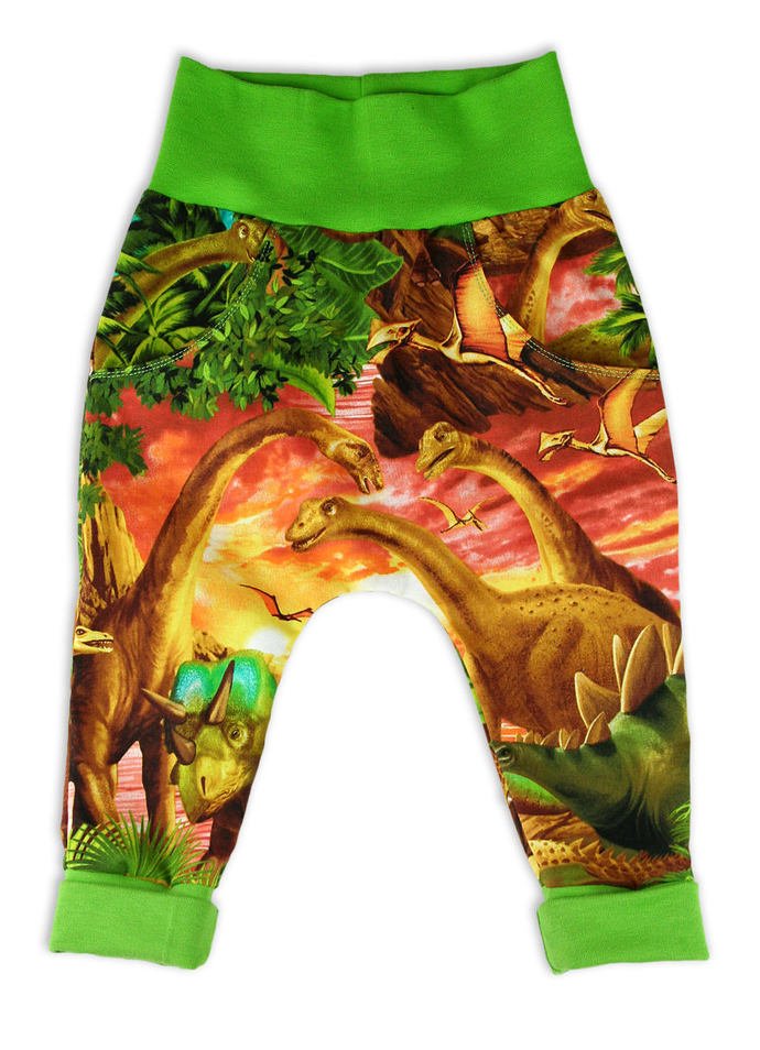 Unisex Baby Pocket Trousers, Play Trousers, Dinosaur Trousers, land before time,