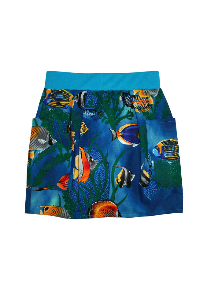Under The Sea Unisex Pocket Skirt