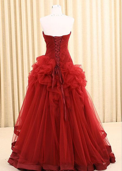 Sweetheart A-Line  Prom Dresses,Long Prom Dresses,Cheap Prom Dresses, Evening